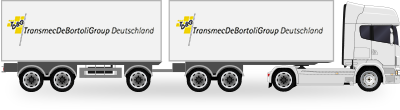 Truck with 24 t trailer
