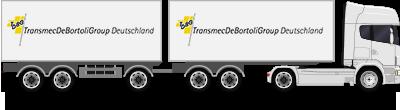 Camion con rimorchio da 24 t
